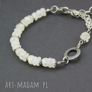 handmade bransoletka kamień księżycowy