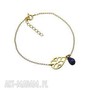 bransoletka kropla lapis lazuli