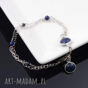 unikalne bransoletki delikatna bransoletka lapis lazuli
