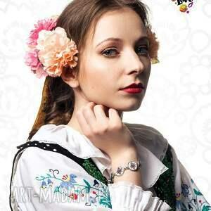 ręcznie wykonane polski bransoletka parzenica