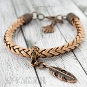 vintage bransoletki bransoletka pleciona boho eagle