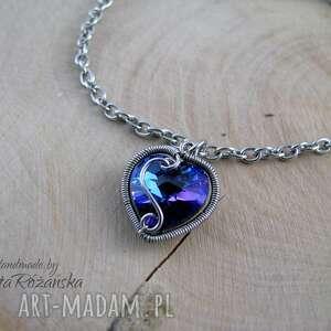 handmade bransoletki swarovski bransoletka serce