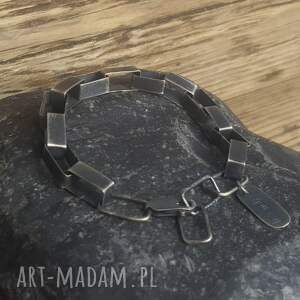 biżuteria na prezent bransoletka srebrna