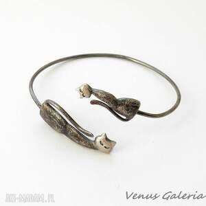 bransoletki biżuteria bransoletka srebrna - mały i duży