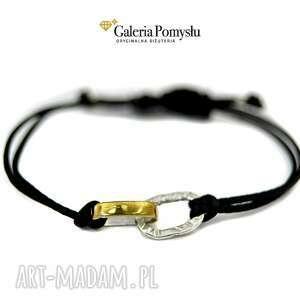 ręczne wykonanie bransoletki bransoletka srebrna