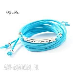 handmade bransoletki rzemień bransoletka suedi