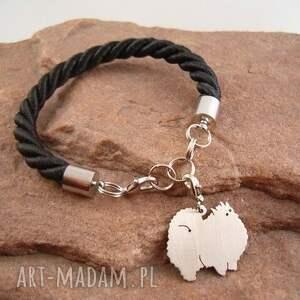 bransoletki rasy-psów bransoletka szpic miniaturowy