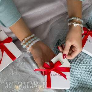 niebanalne bransoletki kryształek bransoletka z hematytów i
