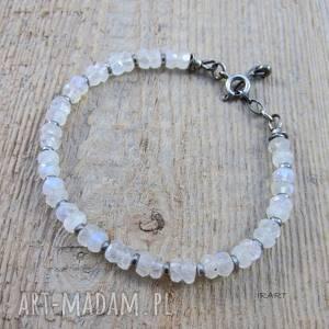 bransoletka z kamieniem księżycowym