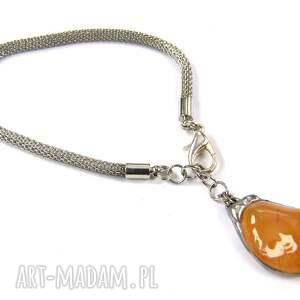 pomarańczowe bransoletki naturalny-kamien bransoletka z karneolem