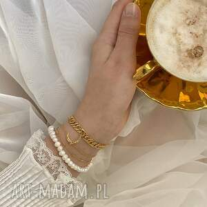 bransoletki bransoletka z księżycem różowego