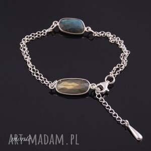 ręcznie robione bransoletki bransoletka z labradorytów 2