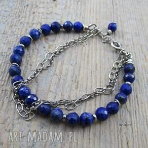 modne bransoletki lapis bransoletka z lazuli