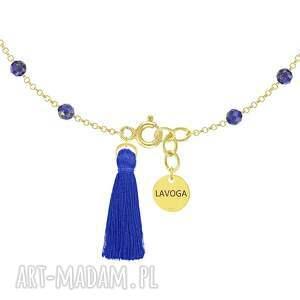 nietuzinkowe bransoletki lapis-lazuli bransoletka z lapisów lazuli