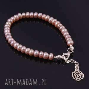 autorskie bransoletki bransoletka z naturalnych pereł