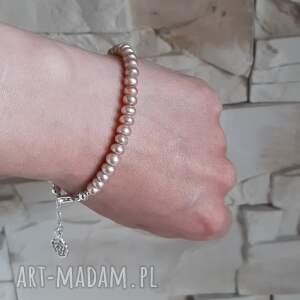 naturalne bransoletki bransoletka z naturalnych pereł