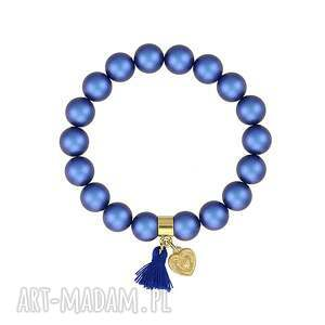 bransoletki perły bransoletka z perełek swarovskiego