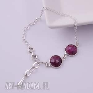 gustowne bransoletki rubin bransoletka z rubinów 2