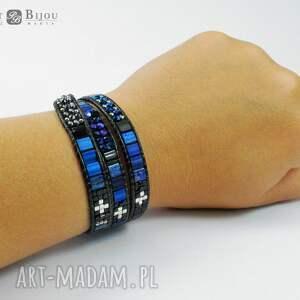 bransoletka bransoletki srebrne zawijana wrap chan luu