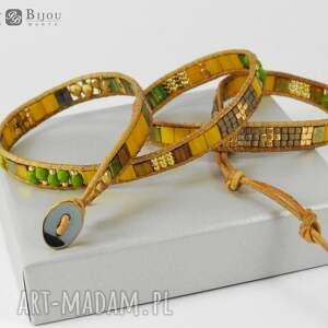 oryginalne bransoletki bransoletka zawijana boho wrap chan