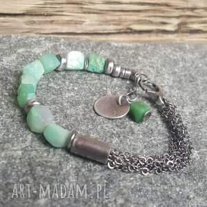 atrakcyjne bransoletki bransoletka-ze-srebr bransoletka ze srebra z bryłkami