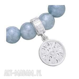 bransoletki niebieska brudnoniebieska bransoletka z