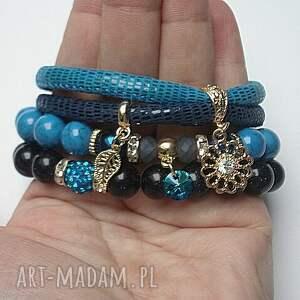 nockairu bransoletki turkusowe cobalt and navy blue vol. 2