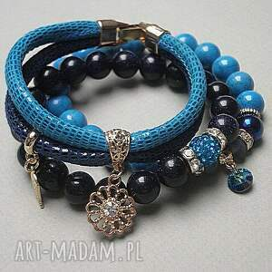 niebieskie bransoletki howlity cobalt and navy blue vol. 2