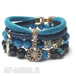 bransoletki nockairu cobalt and navy blue vol. 2