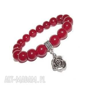 bransoletki bransoletka czaki komplet róża i