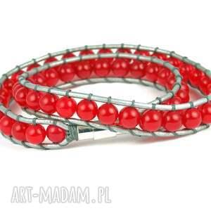 zapinka 2w1: czerwony jadeit