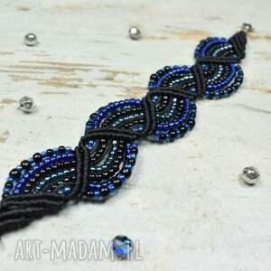 ręcznie wykonane elegancka bransoletka z koralików