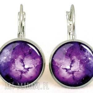 nebula bransoletki fioletowe fioletowa - bransoletka