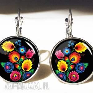 kwiaty bransoletki folk - bransoletka