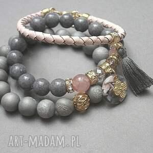 szare druzy grey and antique pink vol. 20 /10