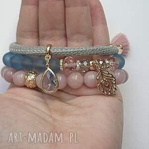 jadeity bransoletki niebieskie grey and colours vol. 3 /29.03.17/