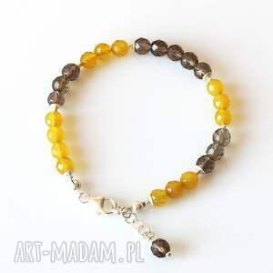 Akadi 1 Kwarc - bransoletka - Hand Made