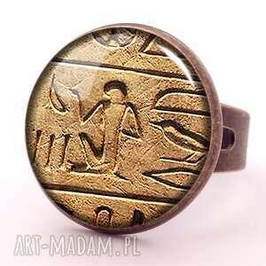 nietypowe bransoletki egipskia hieroglify - bransoletka