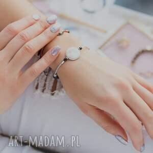 czarne bransoletki kamienna whw high - sea pearl