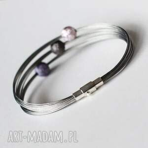 hand made industrial violet