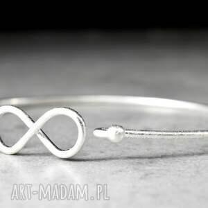 handmade bransoletki 925 infinity srebrna bransoletka