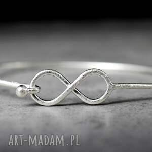 bransoletki 925 infinity srebrna bransoletka