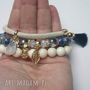 muszla bransoletki niebieskie ivory and dark blue vol. 5
