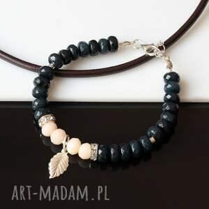 Akadi 1 Jadeit - bransoletka kryształki