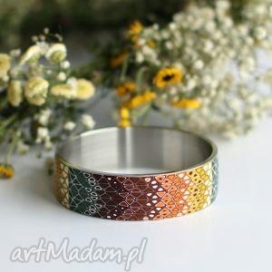hand-made bransoletki bransoleta jesienna