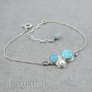 frapujące perła kalejdoskop błękitny