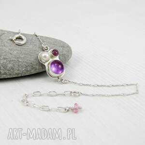 modne delikatna kalejdoskop w purpurze