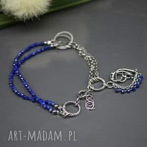 bransoletka kobaltowy lapis lazuli