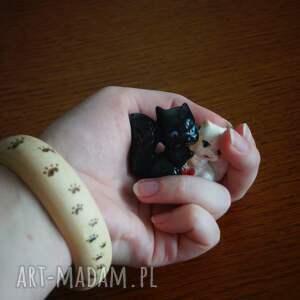 ślady bransoletki kocie wędrówki - wypalana ręcznie