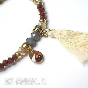 hand-made bransoletki boho kolekcja rich - cynamon vol